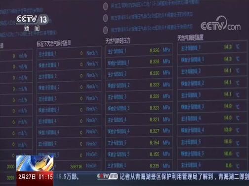 [新闻直播间]黑龙江 中俄东线天然气管道 已向国内输气8.4亿立方米