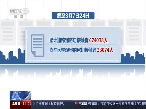 《新闻直播间》 20200308 14:00