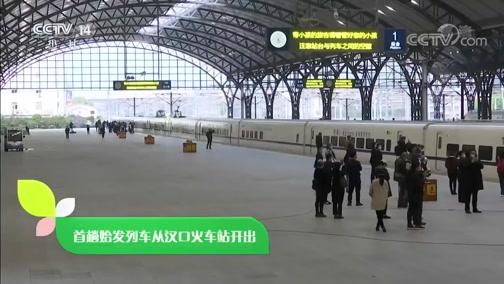 [新闻袋袋裤]首趟始发列车从汉口火车站开出