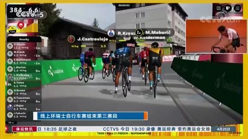 [自行车]线上环瑞士自行车赛结束第三赛段