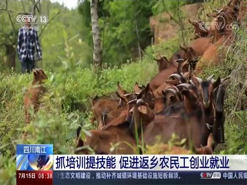 [朝闻天下]四川南江 抓培训提技能 促进返乡农民工创业就业