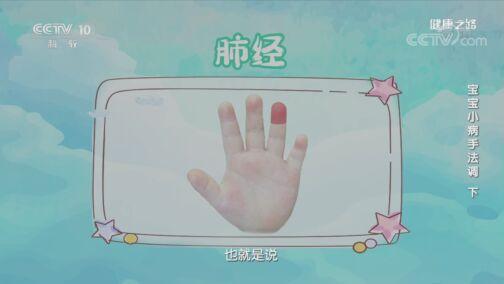 《健康之路》 20200727 宝宝小病手法调(下)
