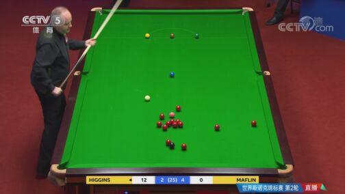 [台球]斯诺克世锦赛第2轮:希金斯VS马福林 6-8局