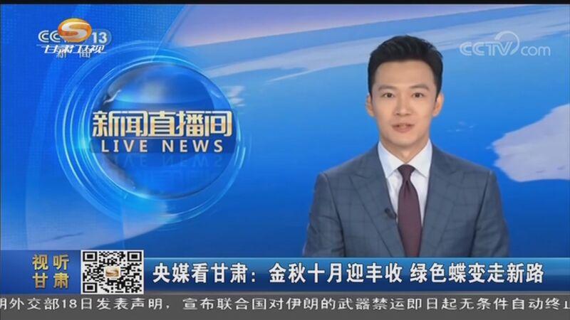 [甘肃新闻]央媒看甘肃:金秋十月迎丰收 绿色蝶变走新路