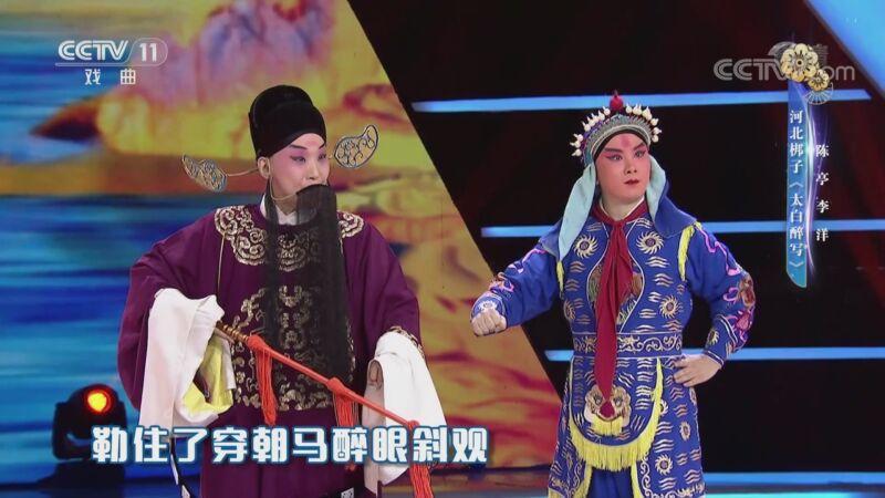 河北梆子太白醉写 表演:陈亭 李洋(一鸣惊人)