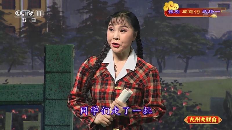 豫剧朝阳沟选场一 主演:杨红霞 盛红林 九州大戏台 20210329