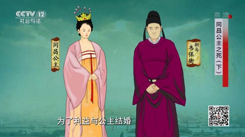 《法律讲堂(文史版)》 20210506 同昌公主之死(下)