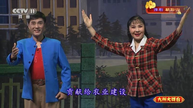 豫剧朝阳沟 主演:杨红霞 盛红林 九州大戏台 20210712