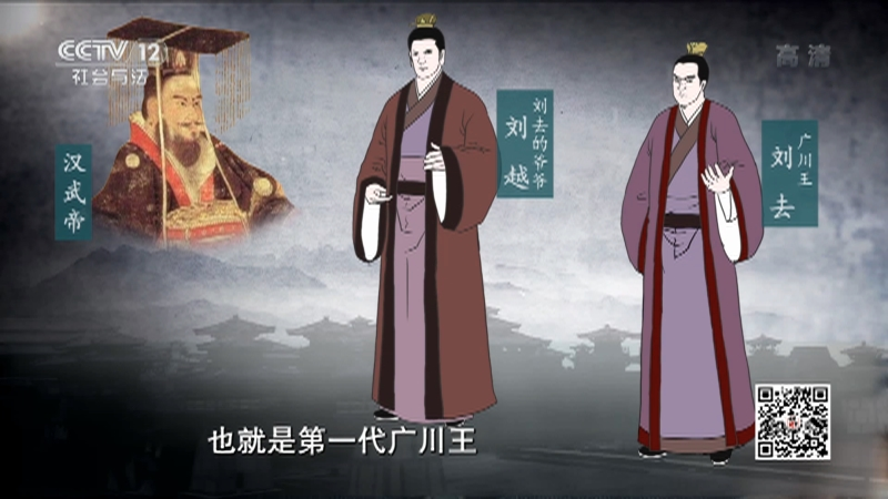 《法律讲堂(文史版)》 20210726 广川王盗墓