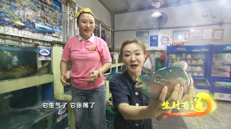 《生财有道》 20210729 夏日经济系列——海南三亚:海鲜好味道 海趣多财道