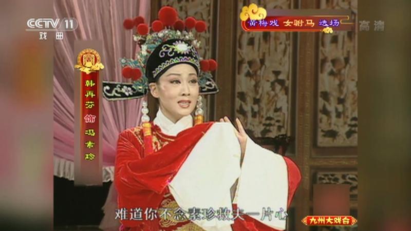 黄梅戏女驸马选场 主演:韩再芬 李萍 九州大戏台 20210816
