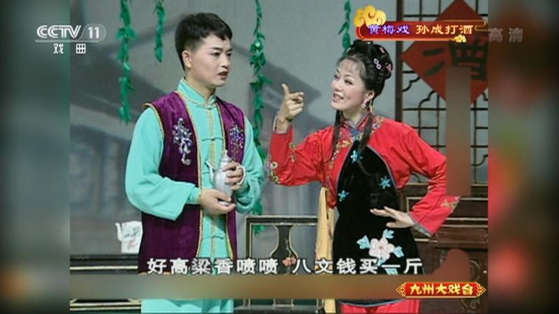 黄梅戏孙成打酒 主演:左胜利 董家林 郑玉兰 九州大戏台 20211003