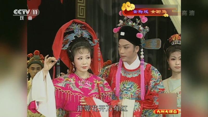 黄梅戏女驸马 主演:韩再芬 李萍 九州大戏台 20211005