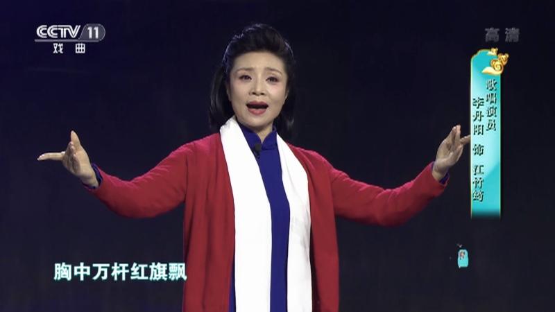 黄梅戏江姐选段 演唱:李丹阳 梨园闯关我挂帅