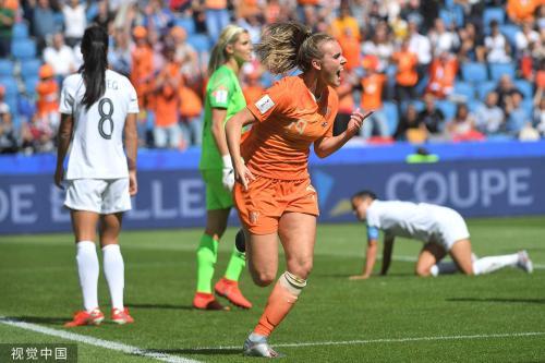 [高清组图]女足世界杯-荷兰1-0新西兰收获开门红
