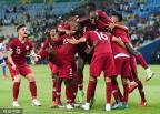 [高清组图]美洲杯-10分钟扳2球 卡塔尔2-2战平