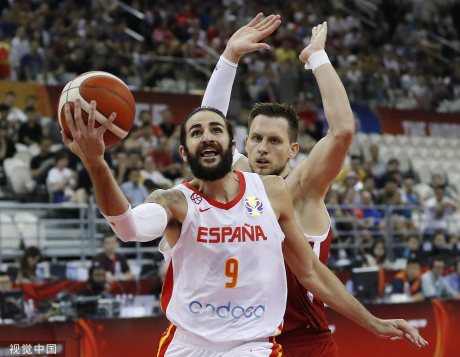 [图]卢比奥19+5+9 西班牙大胜波兰挺进半决赛