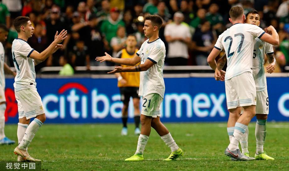 [图]劳塔罗造四球帕雷德斯点射 阿根廷4-0墨西哥