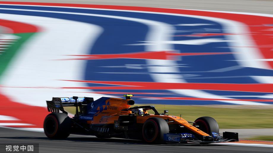 [图]F1美国赛-博塔斯夺得赛季第五杆 维特尔第二