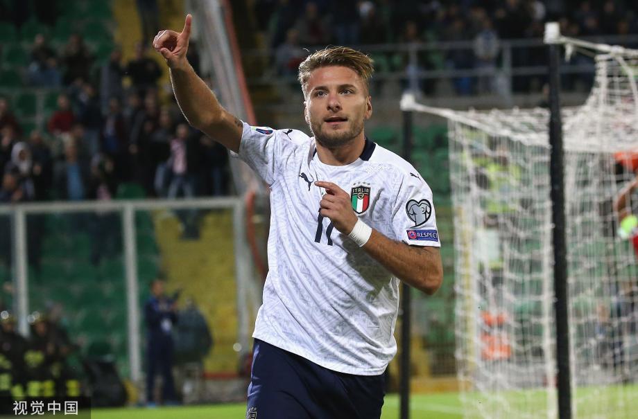 [图]欧预赛-扎尼奥洛因莫比莱双响 意大利9-1全胜