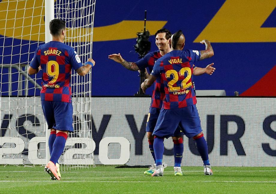 西甲-梅西点射法蒂破门 巴萨2-0莱加内斯继续领跑