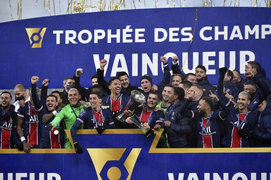 法超杯-内马尔复出破门 巴黎2-1力克马赛夺八连冠