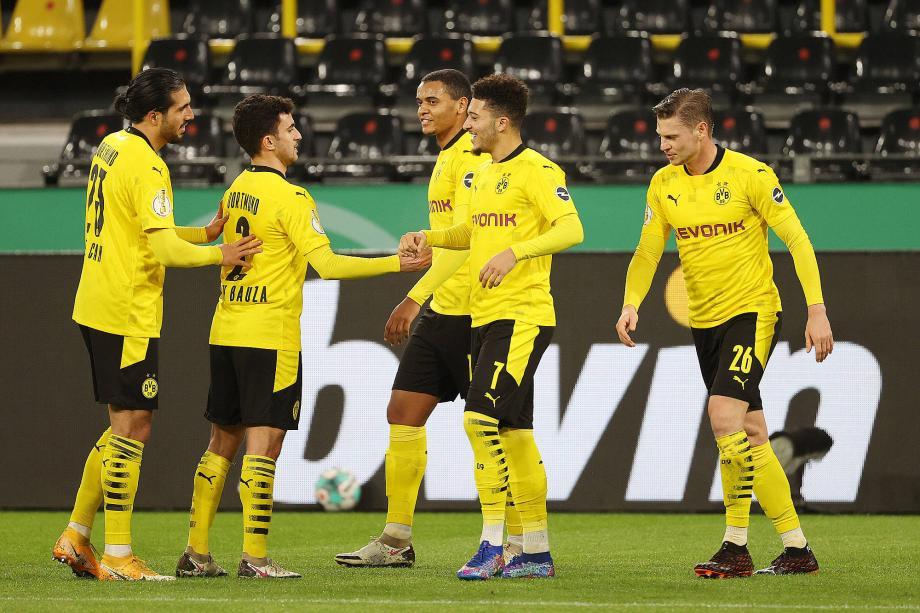 德国杯-哈兰德加时制胜桑乔建功 多特3-2艰难晋级
