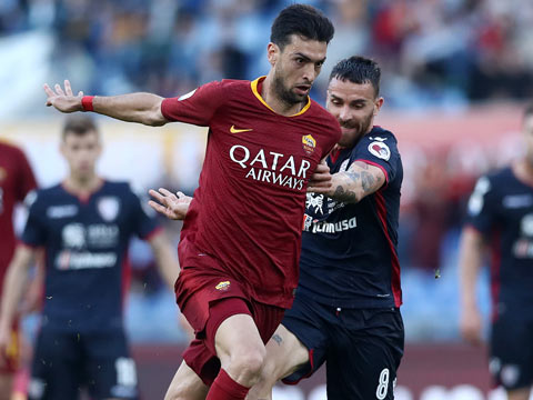 [意甲]第34轮:罗马VS卡利亚里 上半场