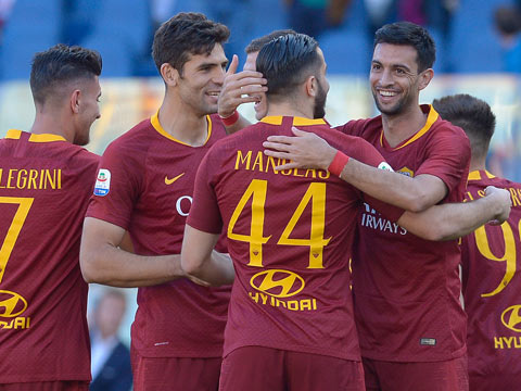[意甲]第34轮:罗马VS卡利亚里 下半场