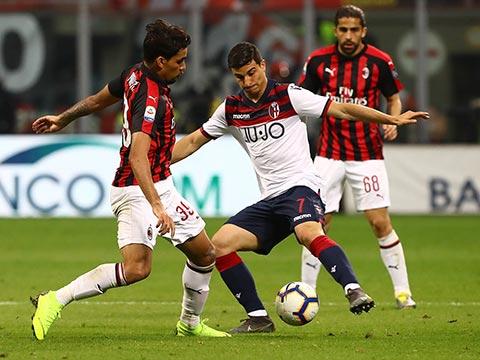 [意甲]三粒进球三张红牌 AC米兰主场取三分