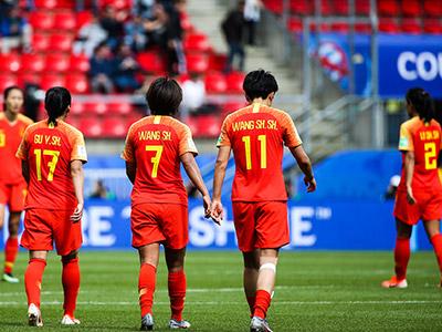 [女足世界杯]小组赛B组:德国VS中国 下半场