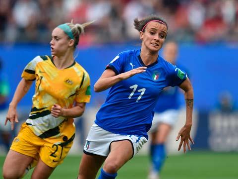 [女足世界杯]小组赛:澳大利亚1-2意大利 比赛集锦