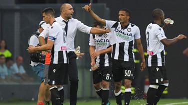 [意甲]第1轮:乌迪内斯1-0 AC米兰 比赛集锦