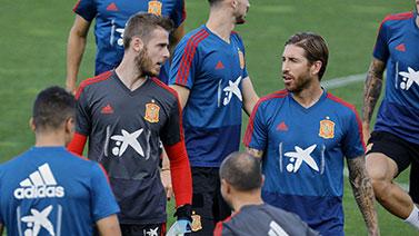 [图]2020欧洲杯预选赛F组前瞻:西班牙训练备战