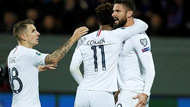 [图]欧预赛-格子造点吉鲁破门 法国1-0客胜冰岛
