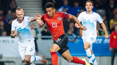 [图]欧洲杯预选赛G组 斯洛文尼亚0-1奥地利