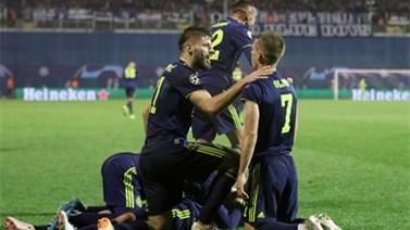 [欧冠]C组:萨格勒布迪纳摩3-3顿涅茨克 比赛集锦