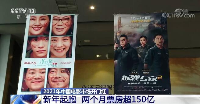 中国电影市场率先复苏 领跑全球产业