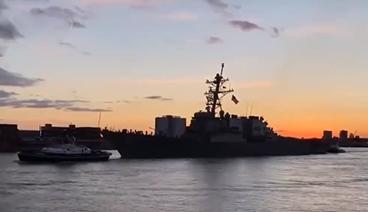《今日关注》 20210727 英航母入南海 美高官密集活动 牵制对抗中国?