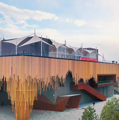 北京世园会开幕 五一假期来这里徜徉花海看展馆