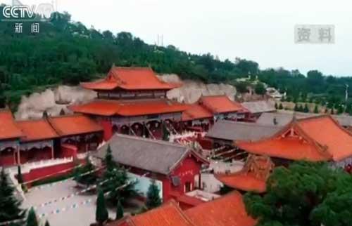 山西长治:昔日小煤窑 今日生态旅游景区