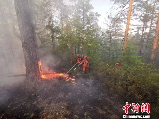 内蒙古大兴安岭北部原始林区火灾明火已扑灭