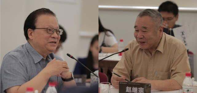 中國工程院院士郎景和教授、中國科學院院士趙繼宗教授分別在紀錄片《手術兩百年》創作研討會發言