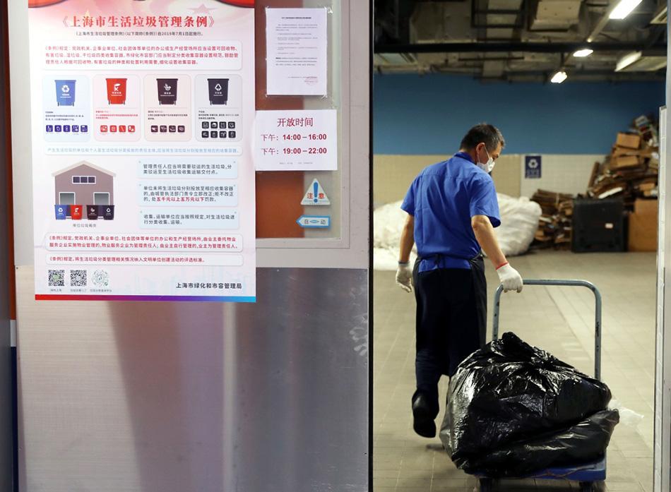 一个半月责令整改万余起!上海公布阶段性垃圾分类执法成绩单