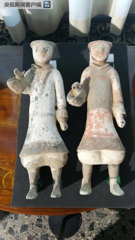 今年3月,习近平在意大利访问期间见证796件套流失海外的中国文物返还给中国。这是部分文物。