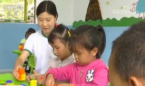 贵州黔西:告别艰难路 孩子在家门口上学