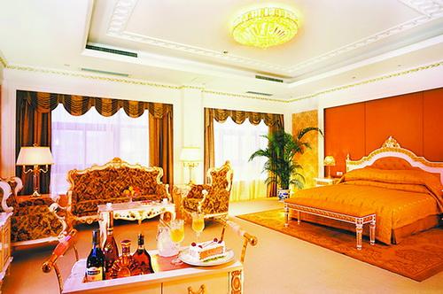2005年厦门宾馆总统套房内部