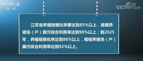 江苏提出到2022年猪肉自给率达70%以上