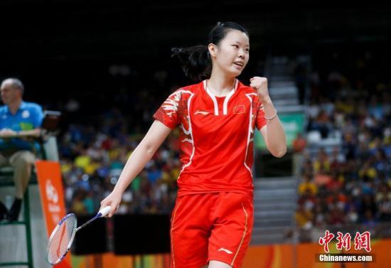 资料与:李雪芮在比赛中。中新网记者 杜洋 摄