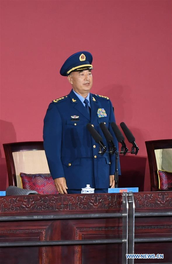 Xu Qiliang, president of the 2019 Military World Games organizing committee and also vice chairman of China